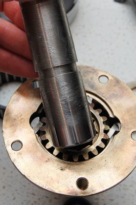 Install Gear and Shaft