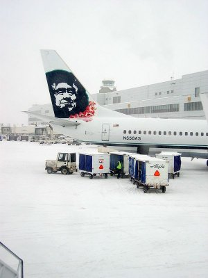 No Aloha in Anchorage today