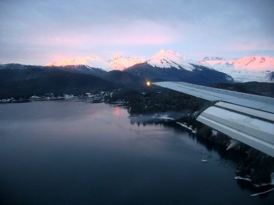 Descent into Juneau