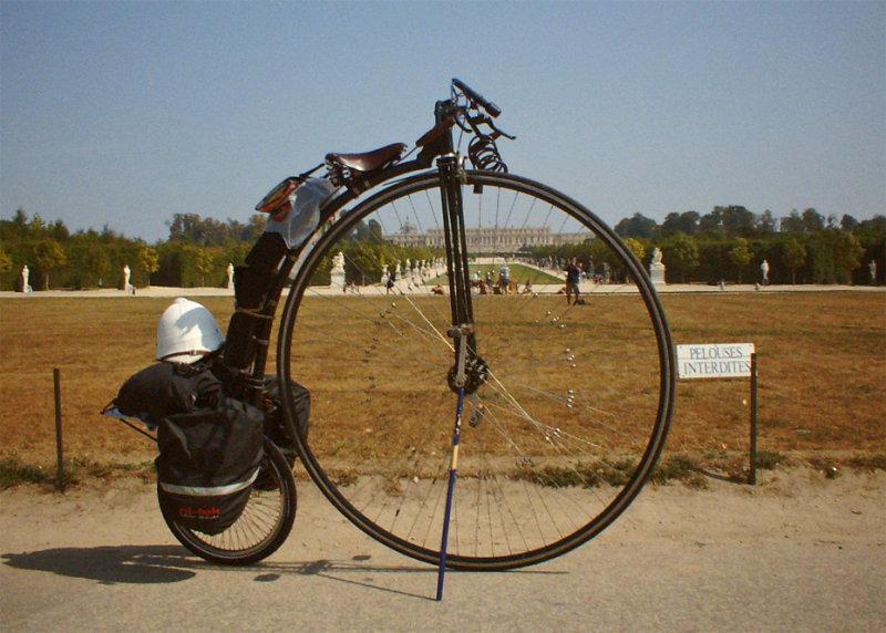 050  Joff - Touring France - Summerfield MK-4 touring bike