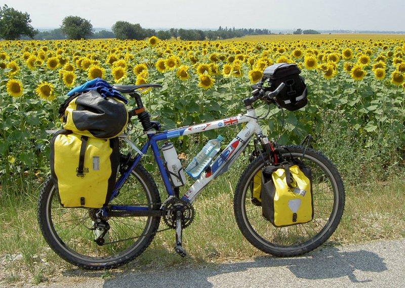 091  James - Touring Slovakia - Be One Cyber touring bike