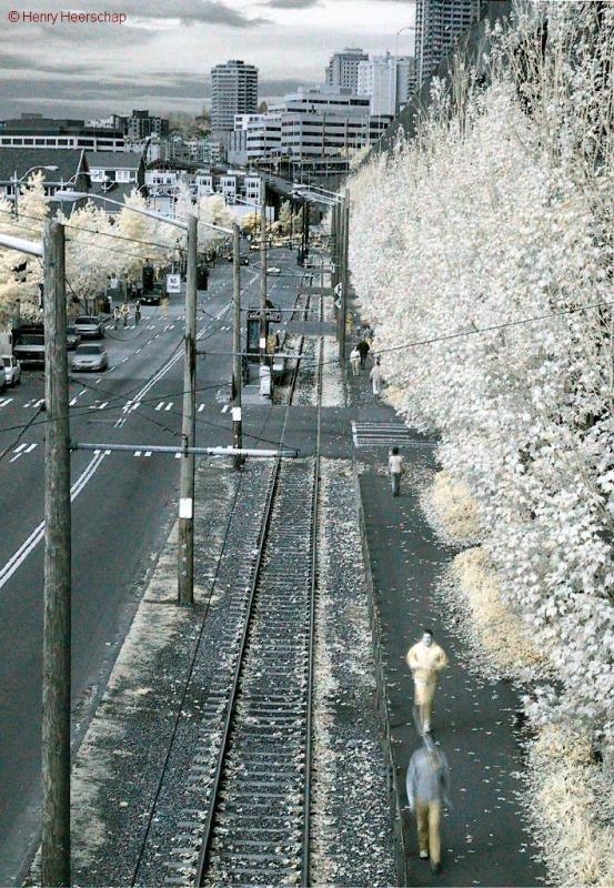 Viaduct in Infrared