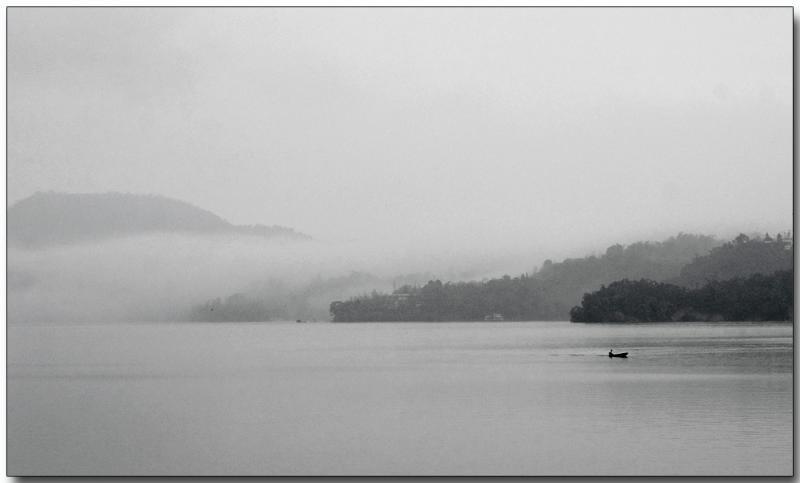 Misty morning fishing