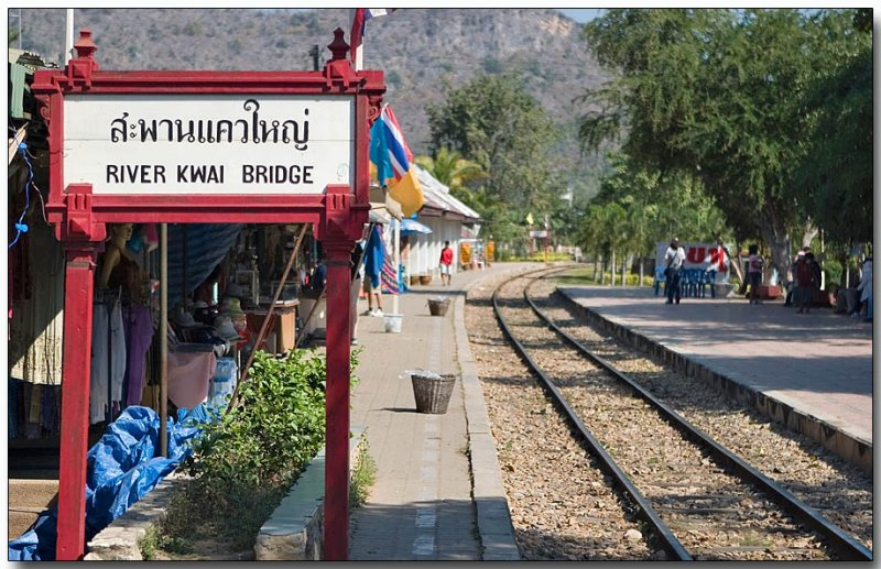 River Kwai Bridge Rail Station - Kanchanaburi