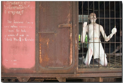 Transporting POWs to Thailand to work on the Death Railway
