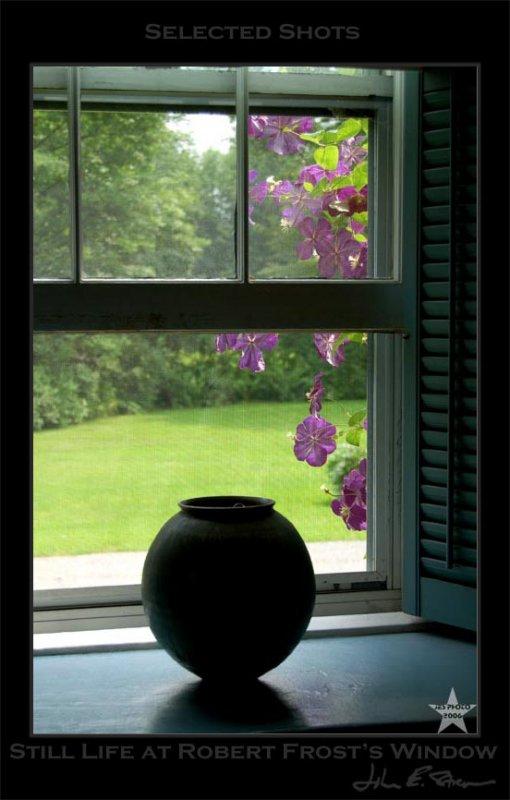 Still Life at Robert Frosts Window