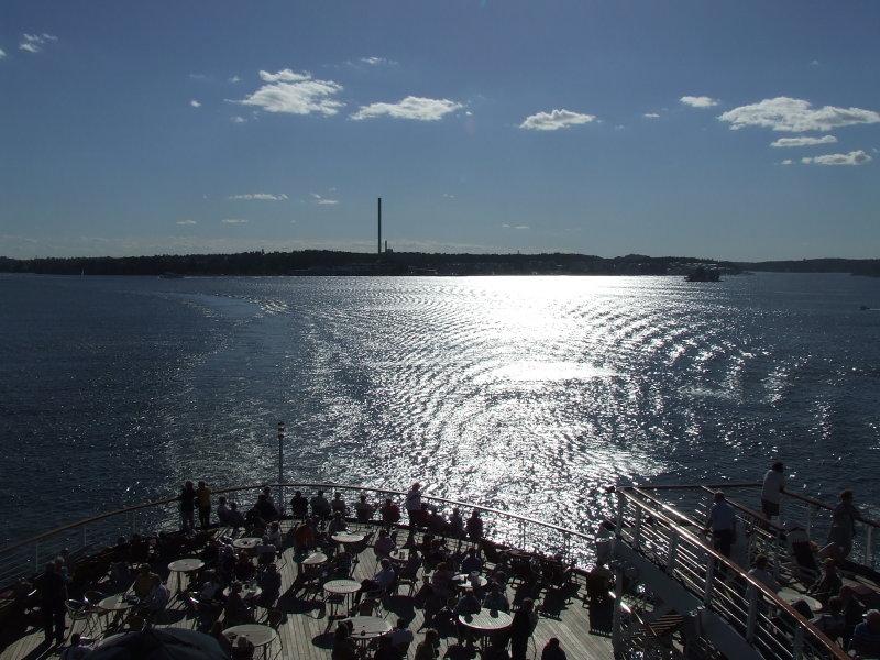 Sailing the Stockholm Archipeligo