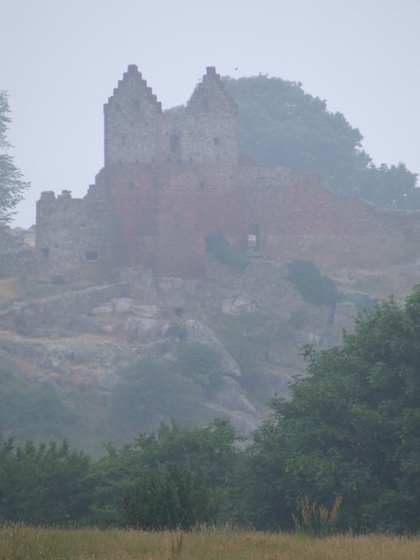 Hammershus Castle Ruins on Bornholm (Denmark)