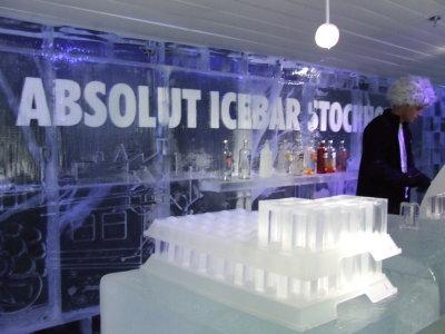 The Icebar (Stockholm, Sweden)