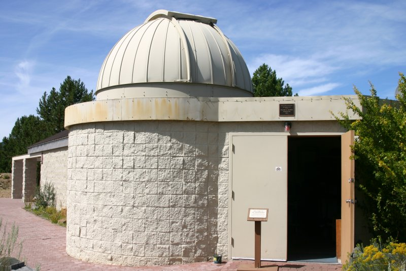 Entrance to the observatory