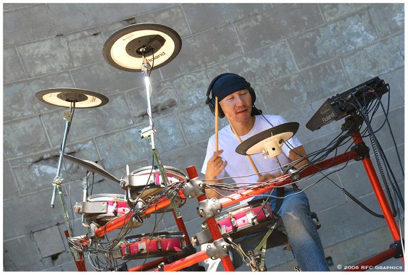 Asian Mushroom & DJ Ruby Red at the Bandshell 2