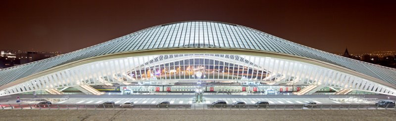 photo of railway station Li�ge-Guillemins