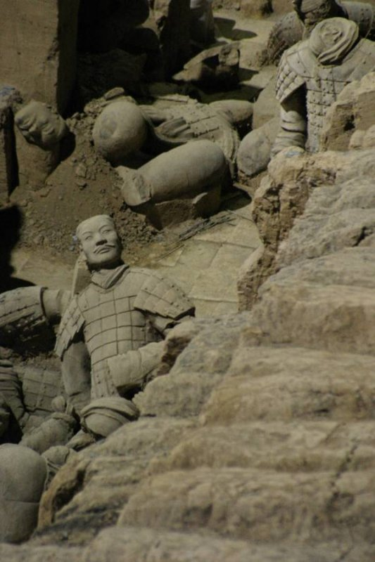 Terracotta warriors, Xian