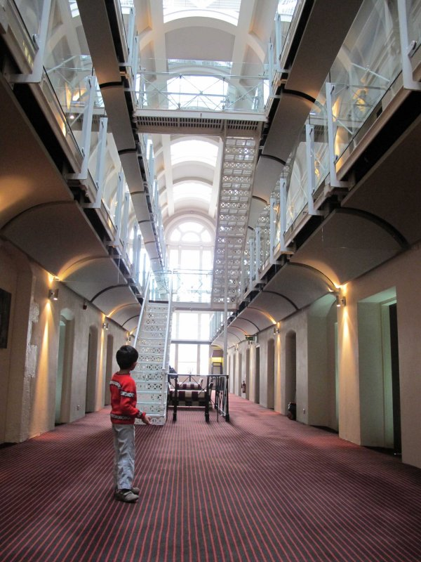 The Malmaison Hotel used to be a prison!
