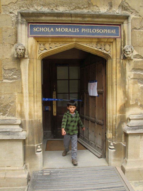 Scholar of moral philosophy