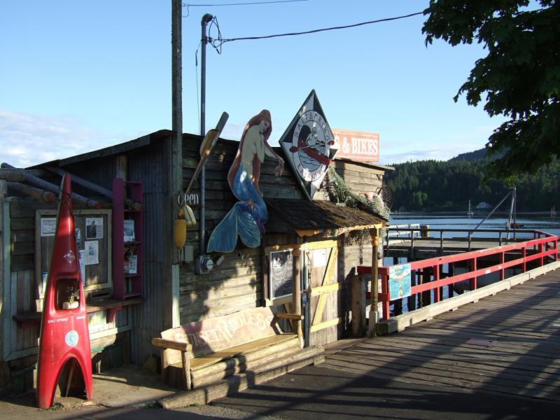 Fulford - kayak shop