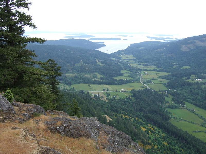 View from Mount Maxwell 1