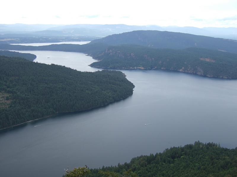 View from Mount Maxwell 2