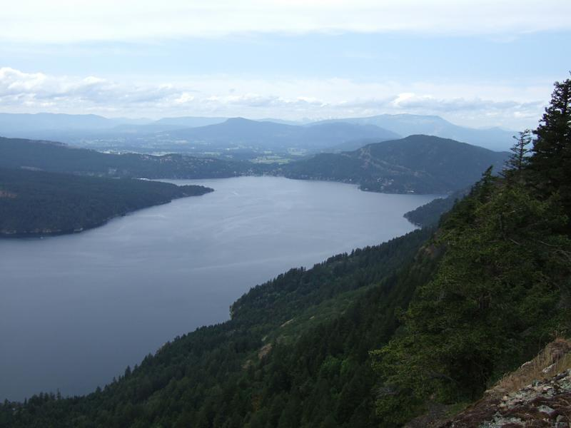 View from Mount Maxwell 3