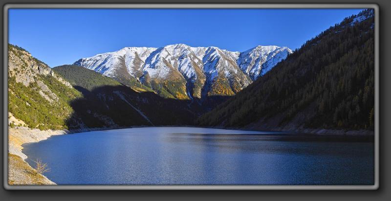 Lake near Forkola di Livignio