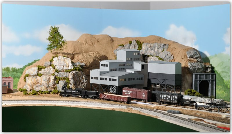 walther 39 s little river mining kit model railroader magazine model railroading model trains. Black Bedroom Furniture Sets. Home Design Ideas