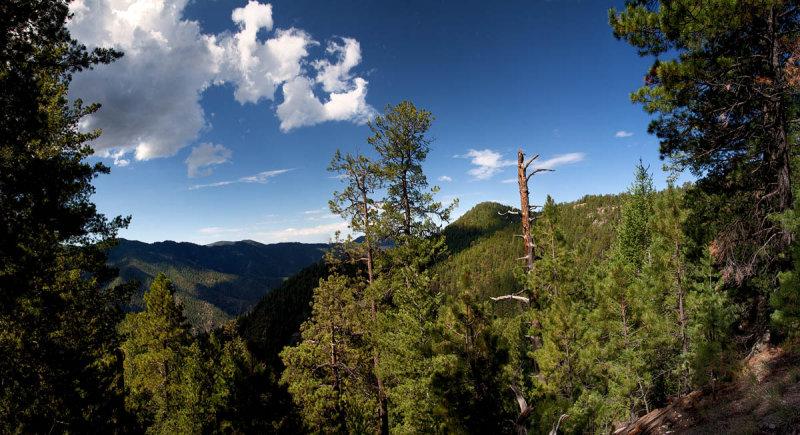 Whitewater Canyon panorama