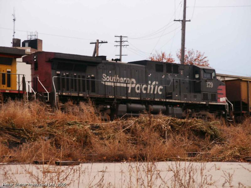 Southern Pacific 179 still in original paint