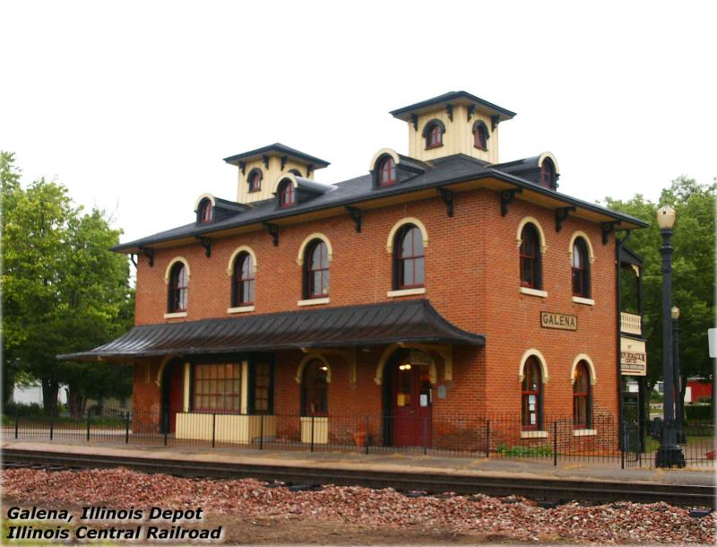 Illinois Central Depot at Galena, Illinois.jpg