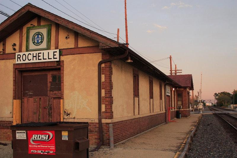 Chicago, Burlington & Quincy Depot, Rochelle, Illinois