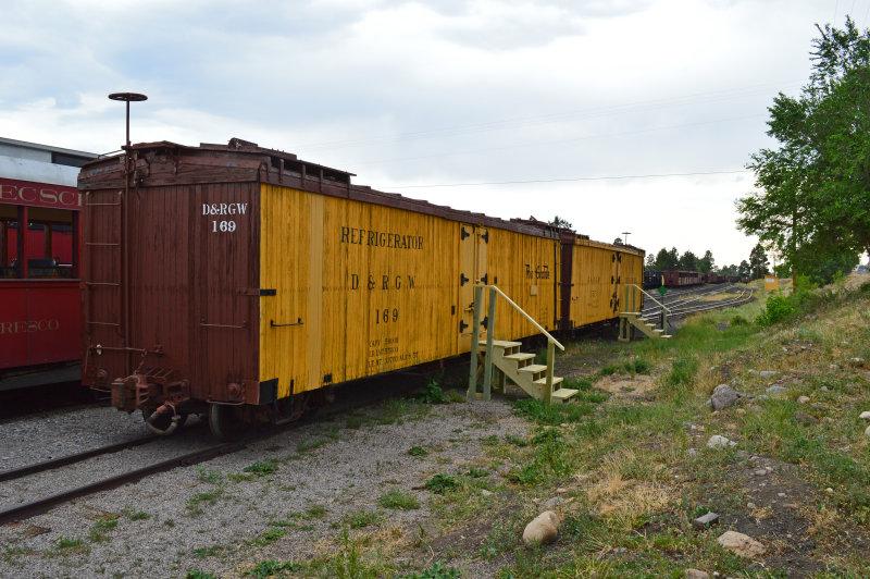 23 DRGW narrow gauge reefers