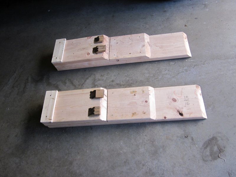 Made Some Car Ramps Today Ford Mustang Forum