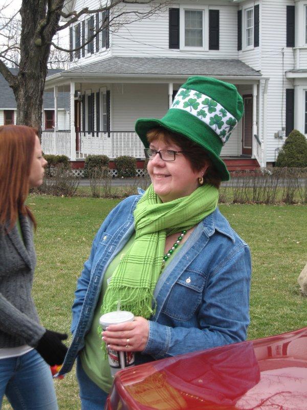 Annie B, St Patricks Day