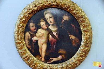 Domenico Beccafumi, Holy Family with St. John the Baptist