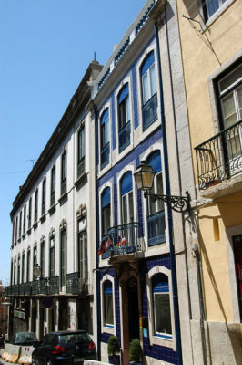 Rua Luz Soriano, Barrio Alto