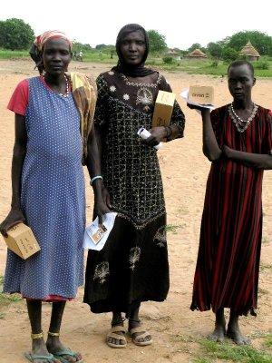 Dinka women in Warrap