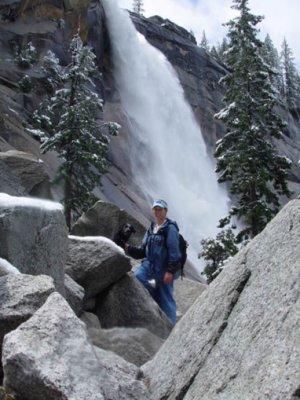 Half dome hiking, Yosemite falls CA