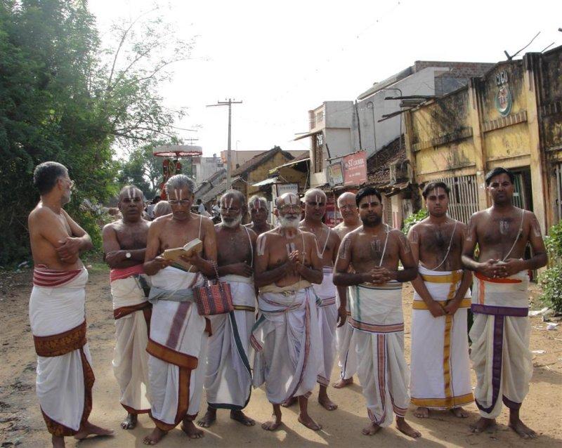 Arulicheyal Ghosthi on Tirunakshatra Utsavam.JPG
