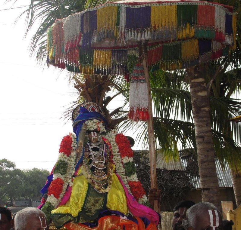 Swami During Purapaadu - Satrumarai Day.JPG