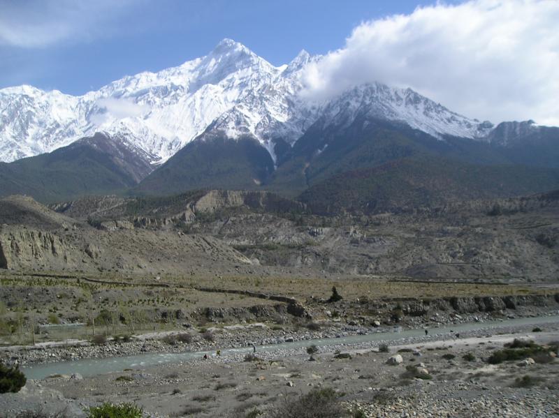 Gandaki-near-Jomsom (21km away from muktinath)