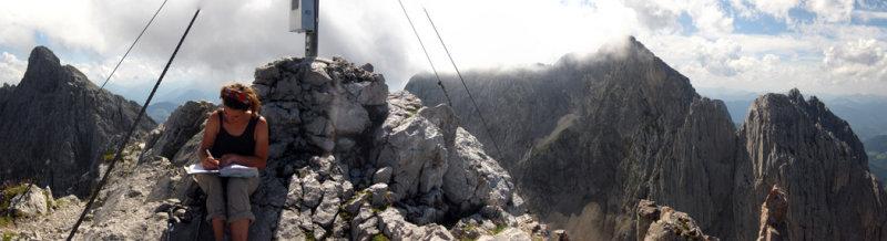 Wilder Kaiser Elmaur Tor summit