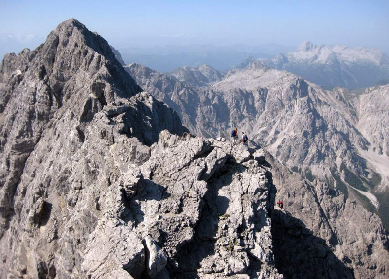 Watzmann ridge traverse