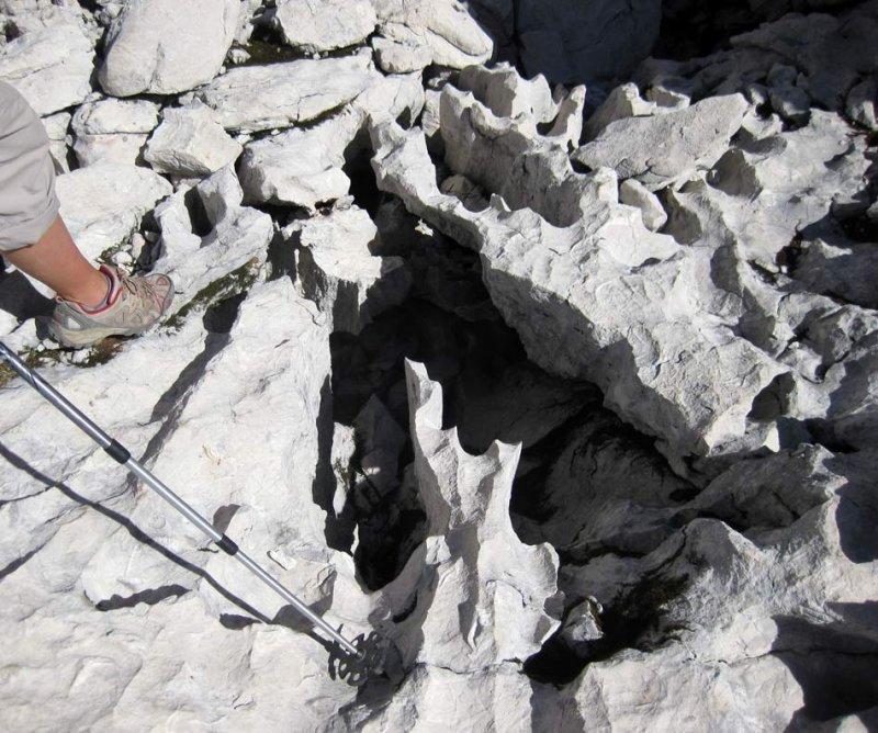 Totes Gebirgen Karst Limestone