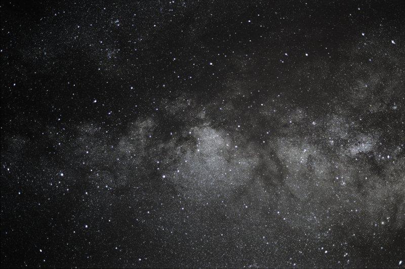 Milky Way in Scutum