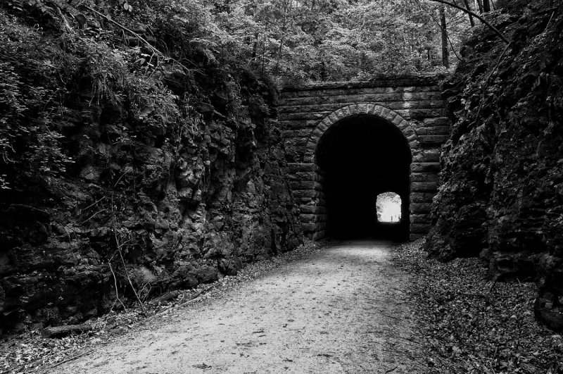 Train Tunnel on Katy Trail