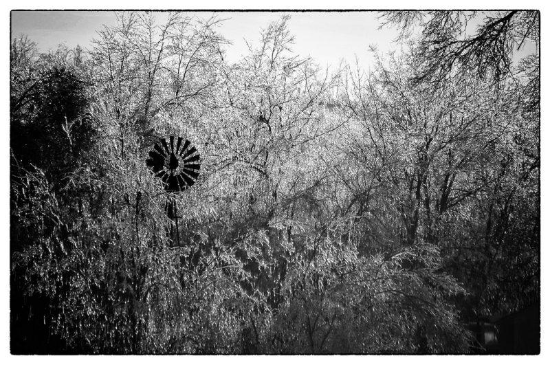 Ice Storm & Windmill