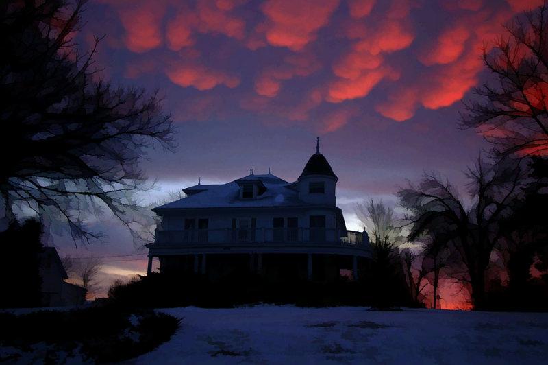 Peery Home Sunrise