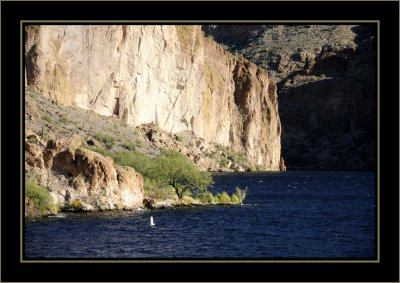 Water on the Apache Trail