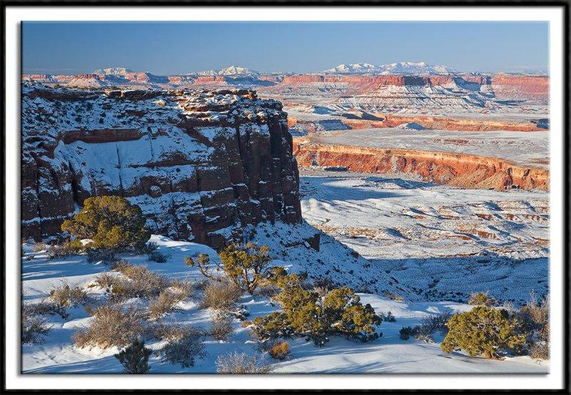 Snowy Canyonlands