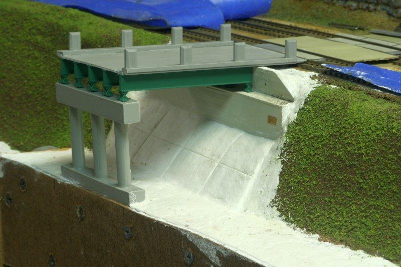 Road bridge close-up
