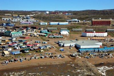 Downtown Iqaluit,Nunavut,Canada